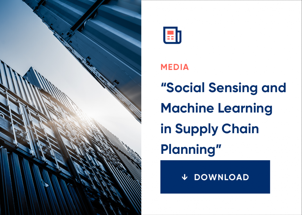 Demand Planning is the top Machine Learning App for Supply