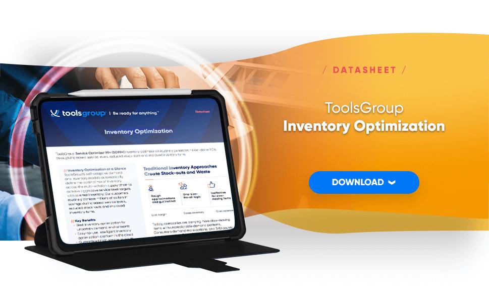 ToolsGroup: Inventory Optimization