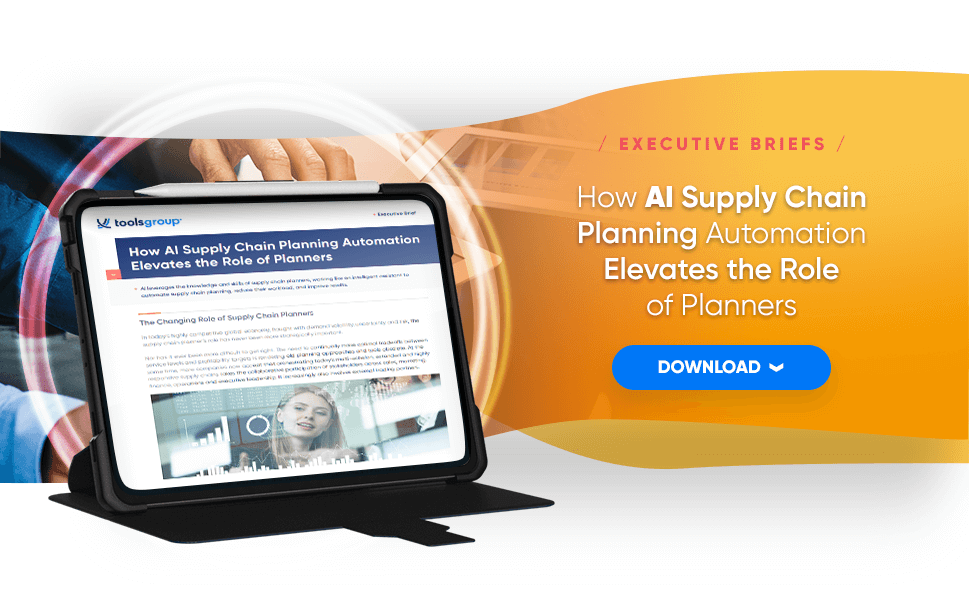 How AI Supply Chain Planning Automation Elevates the Role of Planners