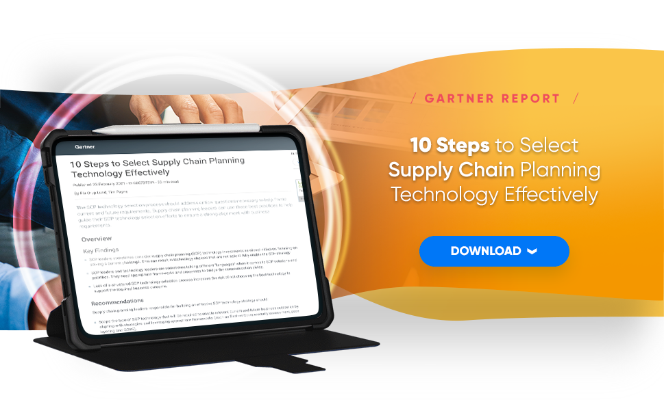 10 Steps to Select Supply Chain Planning Technology Effectively